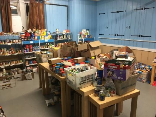 K-3rd grade donations.